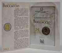 Italien : 2 Euro Giovanni Boccaccio  2013 Stgl.