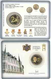 Luxemburg : 2 Euro Herzog Henri  2004 bfr