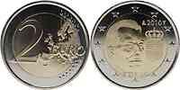 Luxemburg 2 Euro Wappen Henri 2010 BU aus Rolle