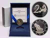 Malta 2 Euro Wahl der ersten Abgeordneten 1849 2011 PP
