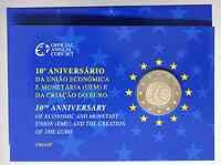 Portugal : 2 Euro 10 Jahre Euro in Originalblister  2009 PP