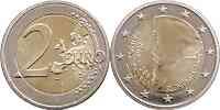 Slowenien : 2 Euro Primoz Trubar  2008 bfr 2 Euro Trubar 2008 ; 2 Euro Slowenien 2008