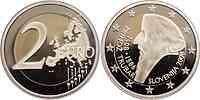 Slowenien : 2 Euro Primoz Trubar in Originalkapsel  2008 PP 2 Euro Slowenien 2008 PP