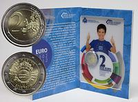 San Marino : 2 Euro 10 Jahre Euro Bargeld  2012 Stgl.