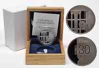 Slowenien : 30 Euro Ljubljana - UNESCO Weltbuchhauptstadt inkl. Originaletui und Zertifikat  2010 PP 30 Euro Weltbuchhauptstadt 2010