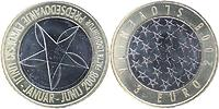 Slowenien : 3 Euro EU-Ratspräsidentschaft  2008 Stgl. 3 Euro Slowenien 2008