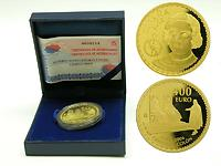 Spanien : 400 Euro Columbus inkl. Originaletui und Zertifikat 2006 PP