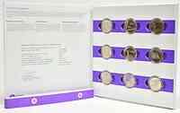 Finnland : 45 Euro 9x5 Euro komplette Serie : Lappland, Helsinki, Aaland, Satakunta, Turku, Savonia, Karelia, Ostrobothnia, Tavastia  2013 PP