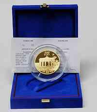 Frankreich : 500 Euro 20 Jahre Fall der Berliner Mauer inkl. Originaletui und Zertifikat  2009 PP 500 Euro Berliner Mauer