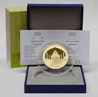 Frankreich : 500 Euro Taj Mahal Indien inkl. Originaletui und Zertifikat  2010 PP