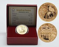 Österreich : 50 Euro Gerard van Swieten  2007 Stgl. 50 Euro van Swieten 2007