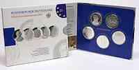 Deutschland : 50 Euro 5 x 10 Euro Ausgaben aus Deutschland des Jahres 2012 (Friedrich, Welthungerhilfe, Grimm, Nationalbibliothek, Hauptmann)  2012 PP