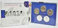Deutschland : 50 Euro 5 x 10 Euro Ausgaben aus Deutschland des Jahres 2013 (Rotes Kreuz, Wagner, Büchner, Hertz, Schneewittchen)  2013 PP