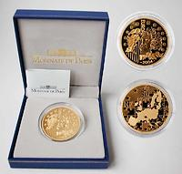 Frankreich : 50 Euro Europa-Münze, incl. Originaletui und Zertifikat  2004 PP