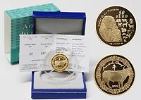 Frankreich : 50 Euro Jahr des Ochsen inkl. Originaletui und Zertifikat  2009 PP 50 Euro Jahr des Ochsen 2009