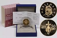 Frankreich : 50 Euro Karl der Große  2011 Stgl. Charlemagne