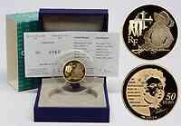 Frankreich : 50 Euro D'Artagnan  2012 PP