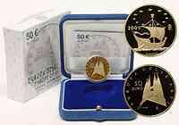 Italien : 50 Euro Ungarn inkl. Originaletui und Zertifikat  2010 PP