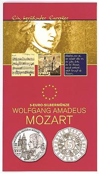 Österreich : 5 Euro Mozart  2006 Stgl. 5 Euro Mozart