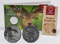 Österreich 5 Euro Land der Wälder 2011 Stgl. / Blister