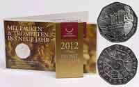 Österreich : 5 Euro 200 Jahre Gesellschaft der Musikfreunde in Wien  2012 Stgl.
