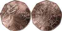 Österreich : 5 Euro Wiener Walzer  2013 Stgl.