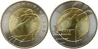 Finnland : 5 Euro Leichtathletik WM - Helsinki 2005 inkl. Zertifikat  2005 vz/Stgl.
