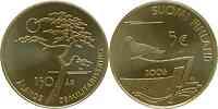 Finnland : 5 Euro Demilitarisierung der Aland Inseln inkl. Kapsel  2006 Stgl. 5 Euro Aland