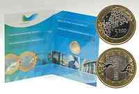 Finnland 5 Euro EU-Präsidentschaft im Blister 2006 St.