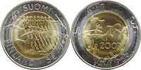 Finnland : 5 Euro 90. Jahrestag der Unabhängigkeit inkl. Originkapsel und Zertifikat  2007 Stgl.