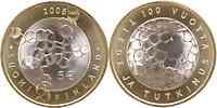 Finnland : 5 Euro Akademie der Wissenschaften in Originalkapsel mit Zertifikat  2008 Stgl.