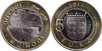 Finnland : 5 Euro Ostrobothnia  2011 Stgl.