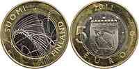 Finnland : 5 Euro Savonia  2011 Stgl.