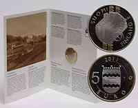 Finnland : 5 Euro Uusimaa  2011 PP