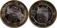 Finnland : 5 Euro Karelia  2011 Stgl.