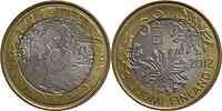 Finnland : 5 Euro Flora  2012 Stgl.