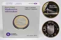 Finnland : 5 Euro Kerzenbrücke  2012 PP