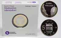 Finnland : 5 Euro Kathedrale Helsinki  2012 PP