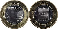 Finnland : 5 Euro Kathedrale Helsinki  2012 Stgl.