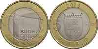 Finnland : 5 Euro Aaland - Leuchtturm v. Sälskär  2013 Stgl.