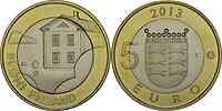 Finnland : 5 Euro Ostrobothnia  2013 Stgl.