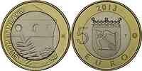 Finnland : 5 Euro Savonia - St. Olafs Castle  2013 Stgl.