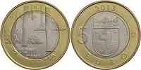 Finnland : 5 Euro Satakunta - Sammallahdenmäki (Steingräber)  2013 Stgl.