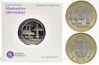 Finnland : 5 Euro Satakunta - Sammallahdenmäki (Steingräber)  2013 PP