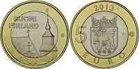 Finnland : 5 Euro Tavastia  2013 Stgl.