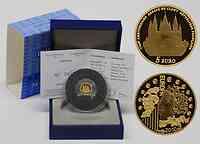 Frankreich : 5 Euro Abtei Cluny inkl. Originaletui und Zertifikat  2010 PP