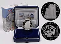 Italien : 5 Euro Anagni  2011 PP
