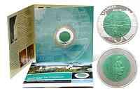 Luxemburg : 5 Euro Burg Vianden im Originalblister  2009 PP Niob