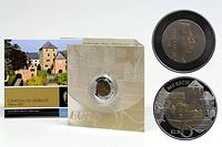 Luxemburg : 5 Euro Burg Mersch  2011 PP NIOB