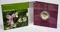 Luxemburg : 5 Euro Orchidee Hummel-Ragwurz  2012 PP